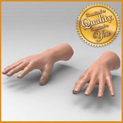 Human Male Hand 3d model