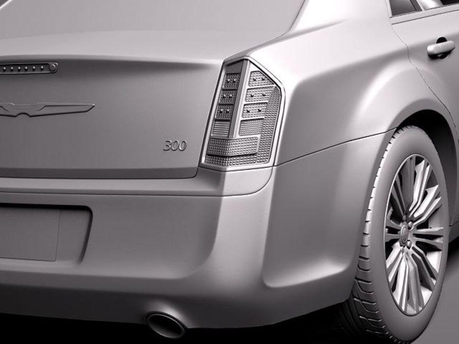 克莱斯勒300c 2012 royalty-free 3d model - Preview no. 11