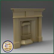 Fire Places 3d model