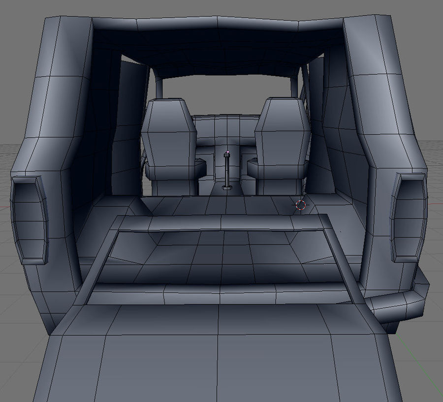 wrecked van 01 royalty-free 3d model - Preview no. 9