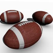 Football réaliste 3d model