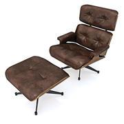 안락 의자 그룹 3d model