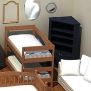 Interior Furnishings(1) 3d model