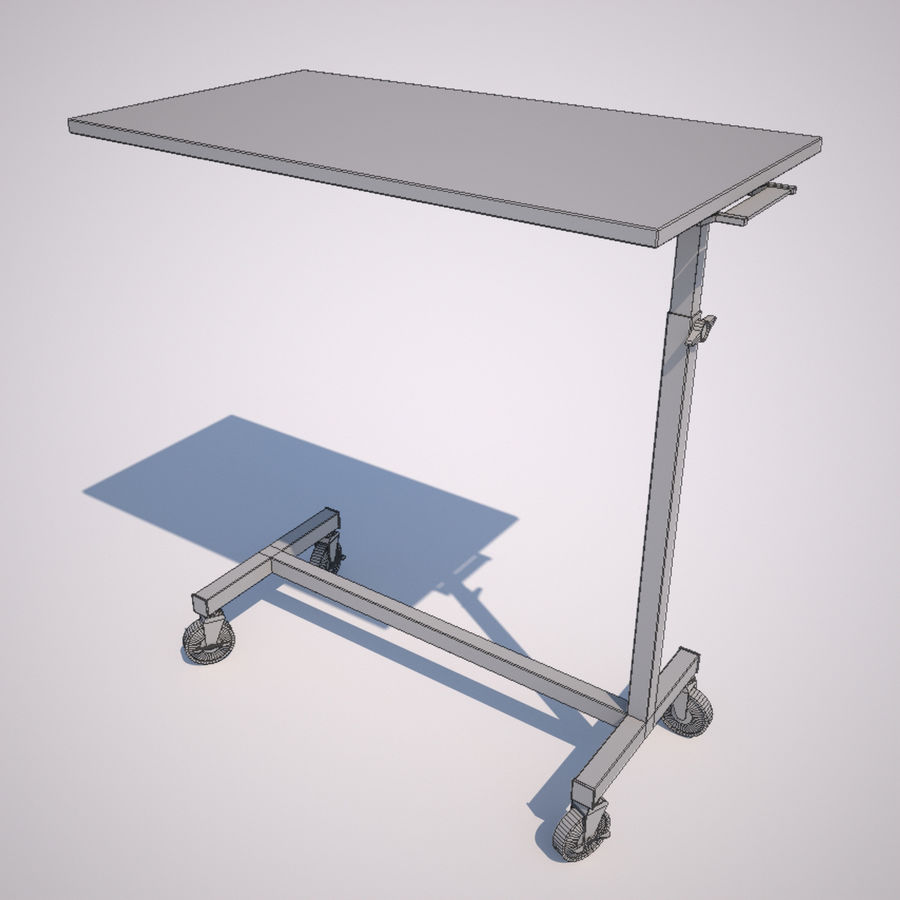 Mesa de cabeceira de cabeceira royalty-free 3d model - Preview no. 1