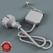 Apple Adapter Charger 3d model