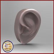 Męskie ucho 3d model