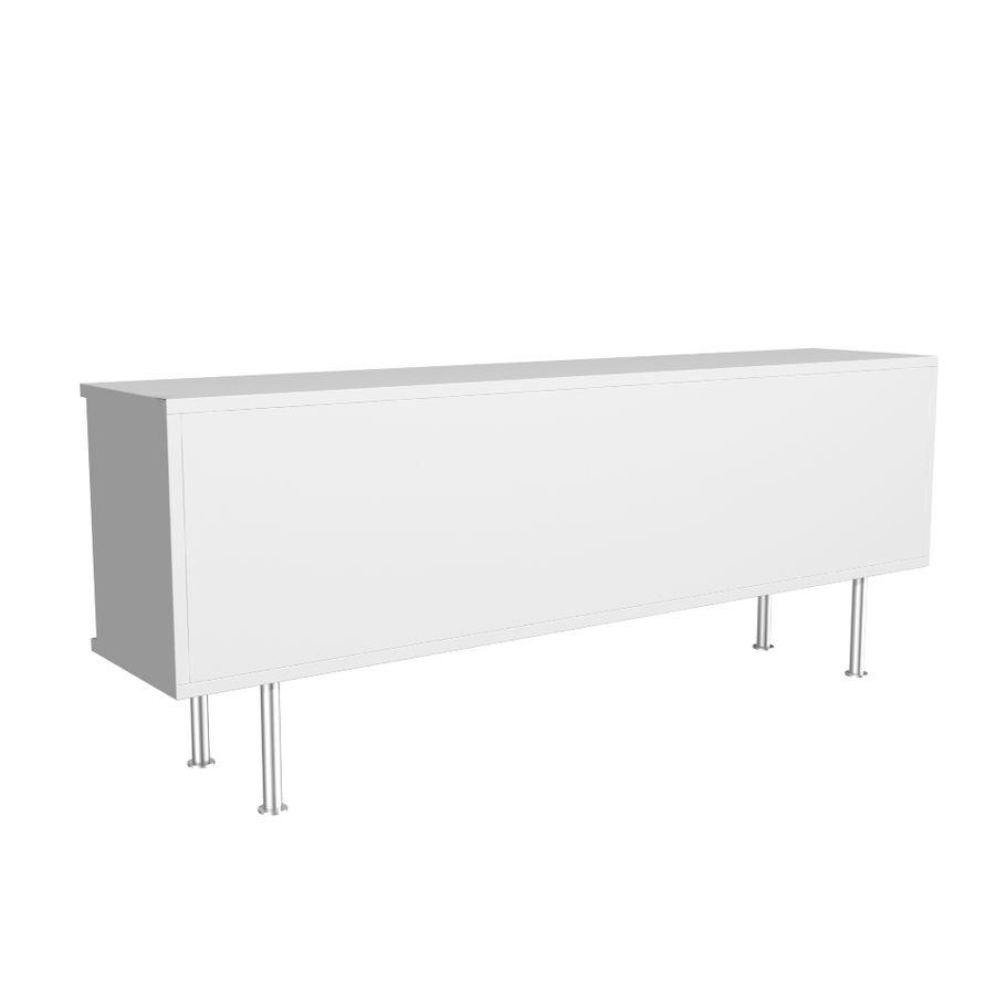 ikea aparador blanco IKEA Bonde Aparador Modelo 3D 10 Max Obj Fbx 3ds Free3D