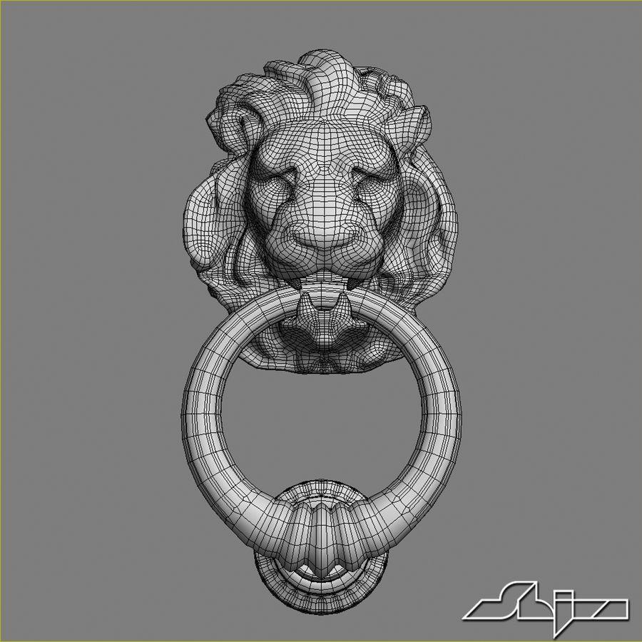 Lion Head Door Knocker 3d Model 39 Max Obj Fbx 3ds