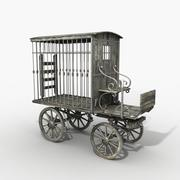 Transport de prisonniers 3d model