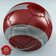 Soccer Ball Nike 3d model