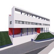 GEBÄUDE moderne architektur 3d model