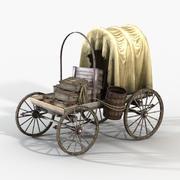Port Cart 3d model