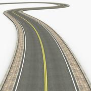 建设者道路 3d model
