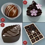 Kolekcja cukierków 3d model