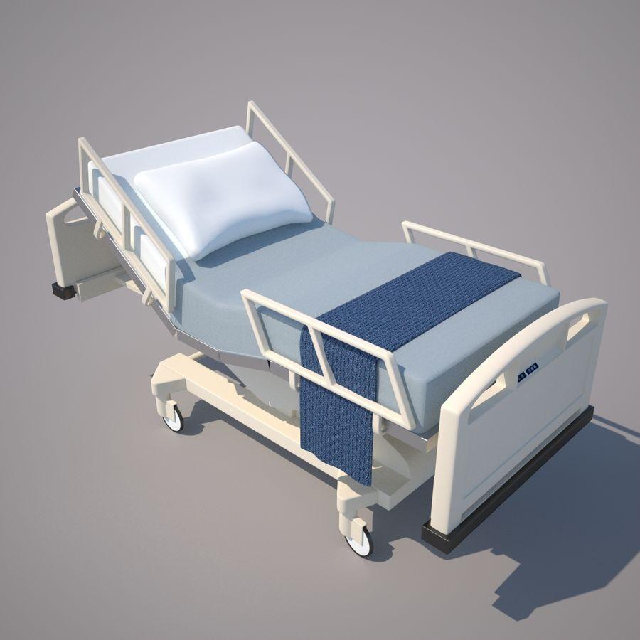 Letto d 39 ospedale tavolo e iv modello 3d 30 unknown for Letto 3d dwg
