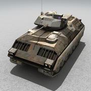M2_Bradley 3d model