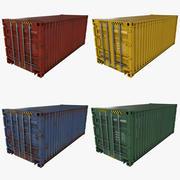 海运集装箱 3d model