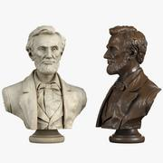 Abraham Lincoln Bust 3d model