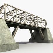Bridge Metal Girders 3d model