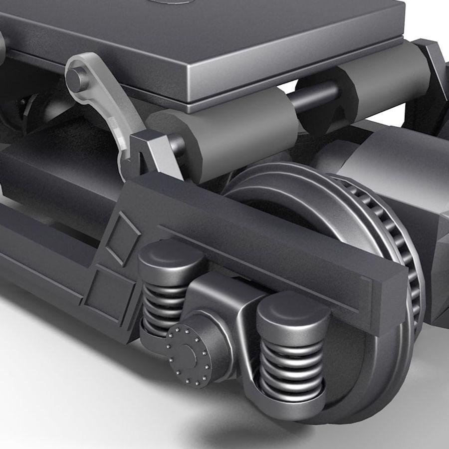 기차 바퀴 royalty-free 3d model - Preview no. 2