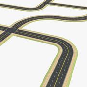 Roads 3 3d model