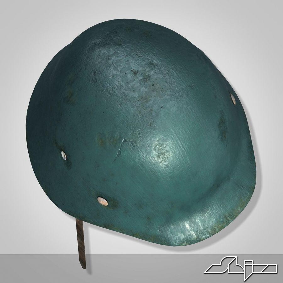 World War 2 German Helmet royalty-free 3d model - Preview no. 5