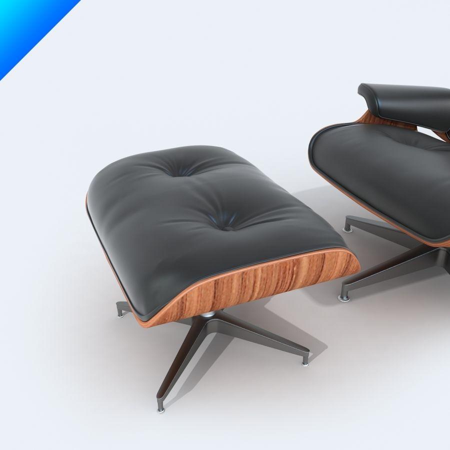 라운지 라운지 의자 royalty-free 3d model - Preview no. 4