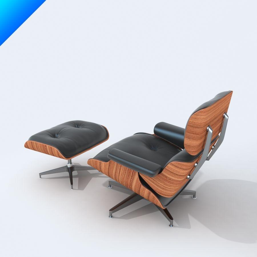 라운지 라운지 의자 royalty-free 3d model - Preview no. 3