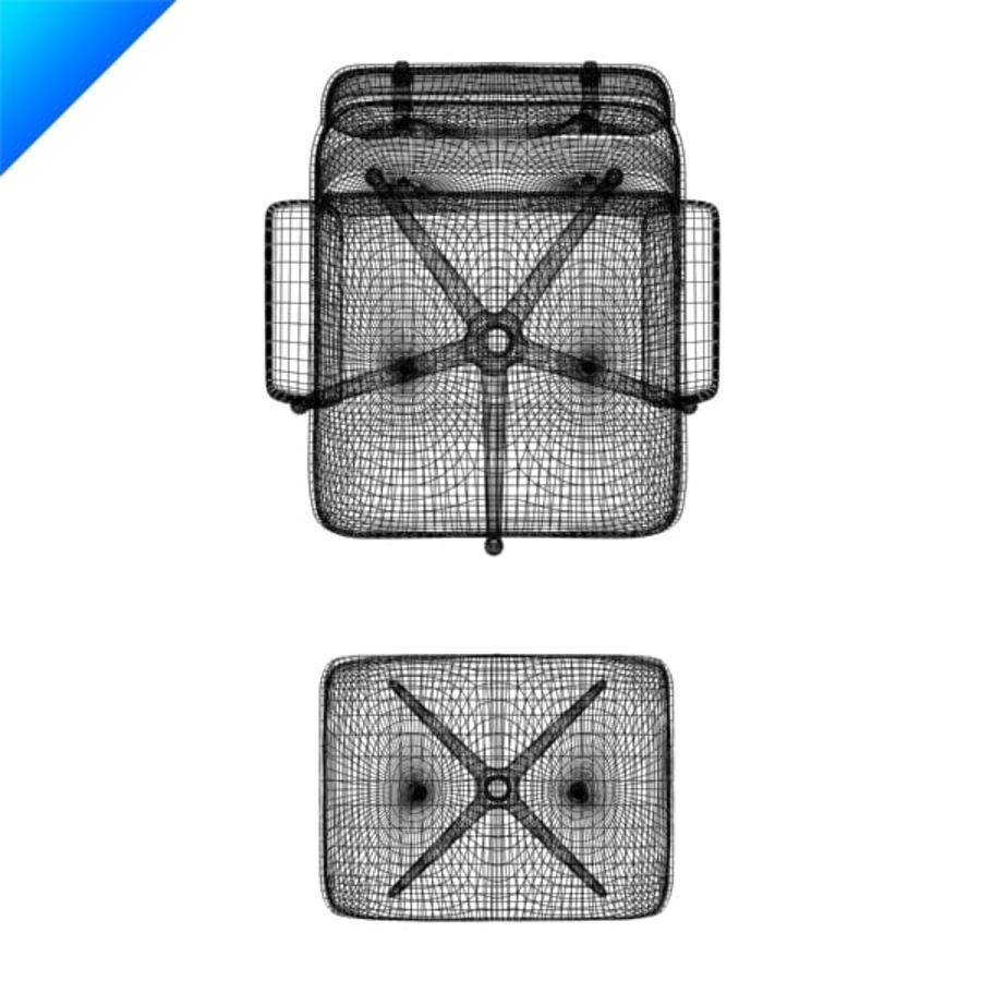 라운지 라운지 의자 royalty-free 3d model - Preview no. 10