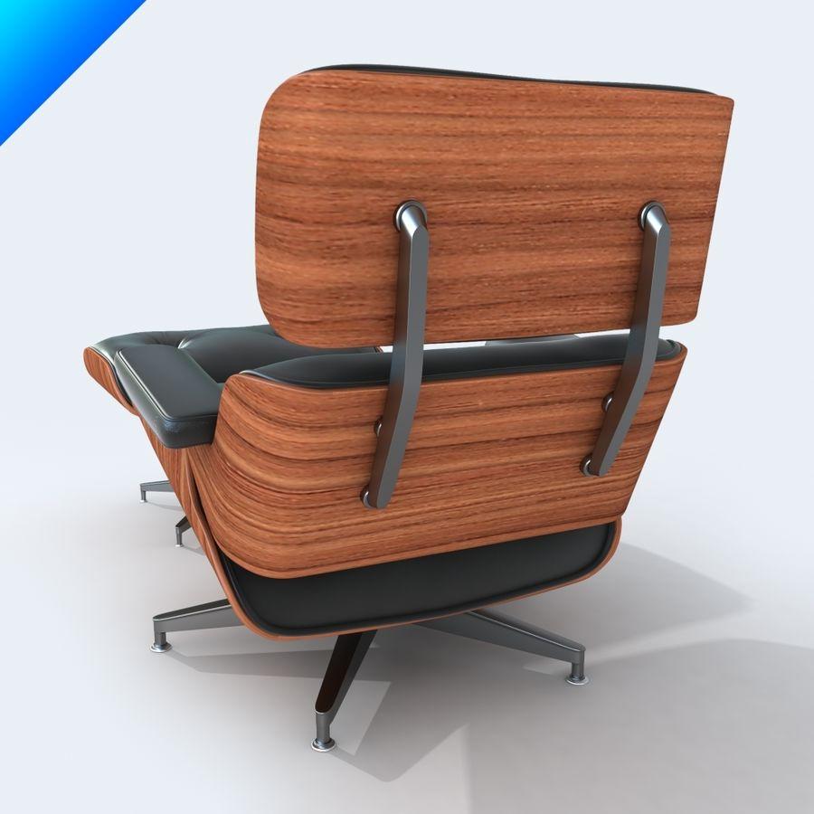 라운지 라운지 의자 royalty-free 3d model - Preview no. 8