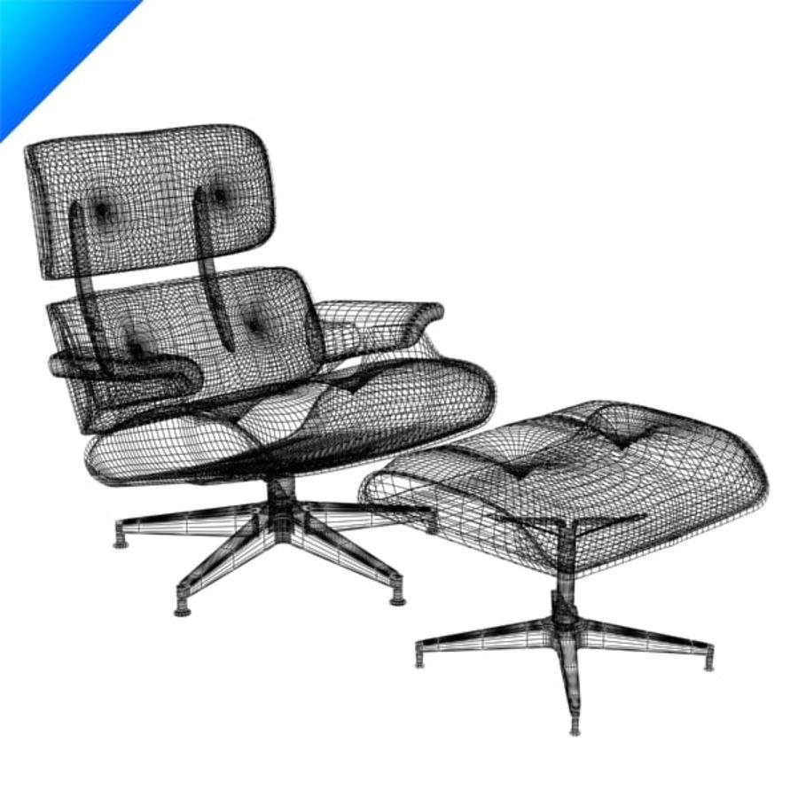 라운지 라운지 의자 royalty-free 3d model - Preview no. 12