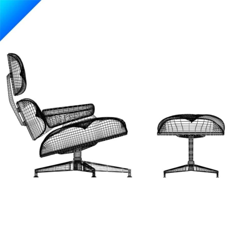 라운지 라운지 의자 royalty-free 3d model - Preview no. 11