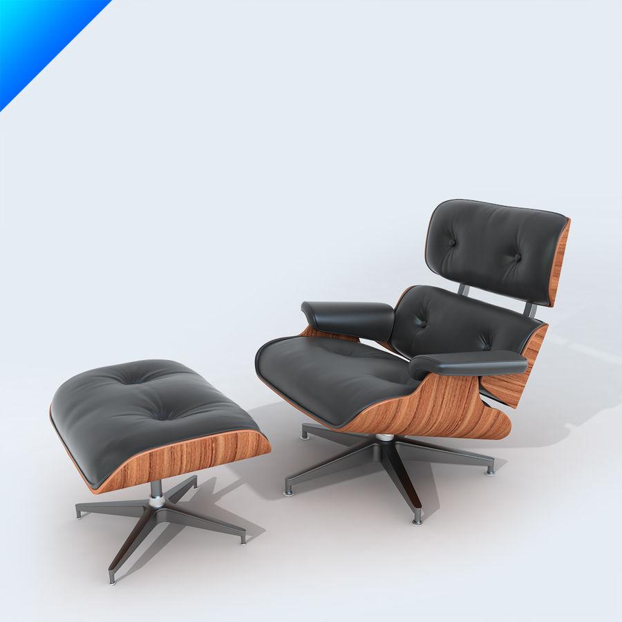라운지 라운지 의자 royalty-free 3d model - Preview no. 1