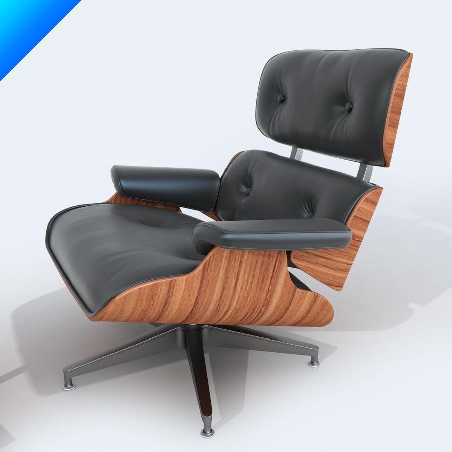라운지 라운지 의자 royalty-free 3d model - Preview no. 5