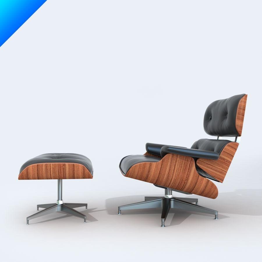 라운지 라운지 의자 royalty-free 3d model - Preview no. 2