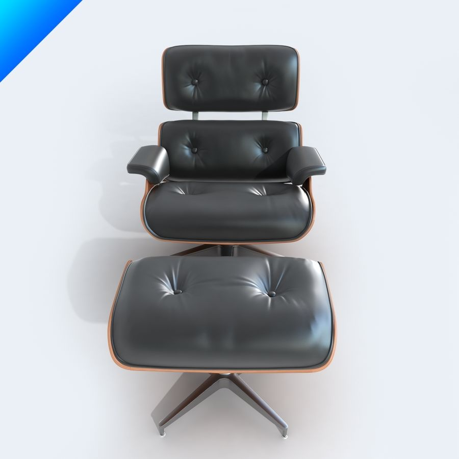 라운지 라운지 의자 royalty-free 3d model - Preview no. 6