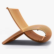 Cappellini - Marc Newson Wooden Chair 3d model