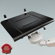 Laptop Table Stand 3d model