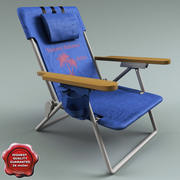 Campingstol Tommy Bahama 3d model
