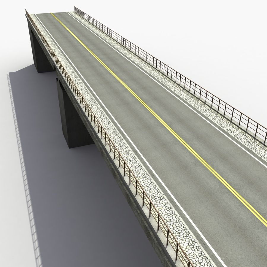 Bridges royalty-free 3d model - Preview no. 11
