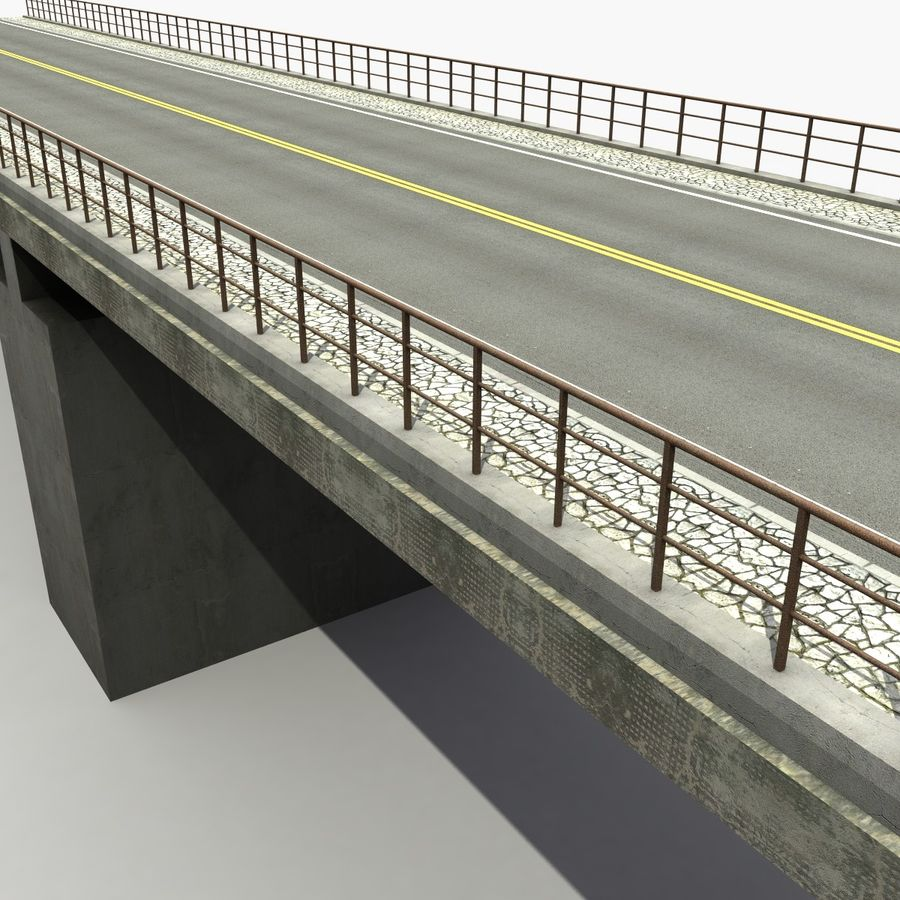 Bridges royalty-free 3d model - Preview no. 4