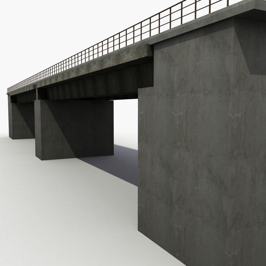 Bridges royalty-free 3d model - Preview no. 2