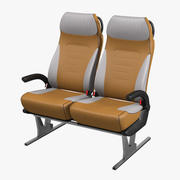 Bus seating  Kiel avance 3d model