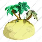 Tropical Island 3d model