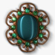 Antique Brooch 3d model