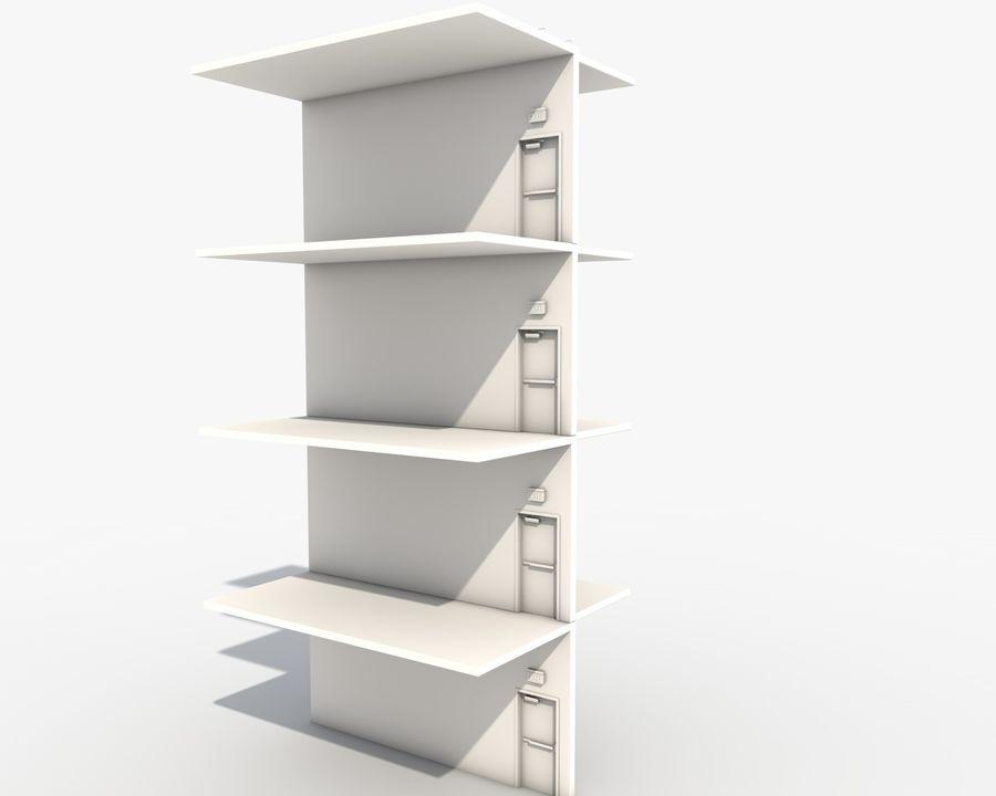 Acil durum merdivenleri royalty-free 3d model - Preview no. 7