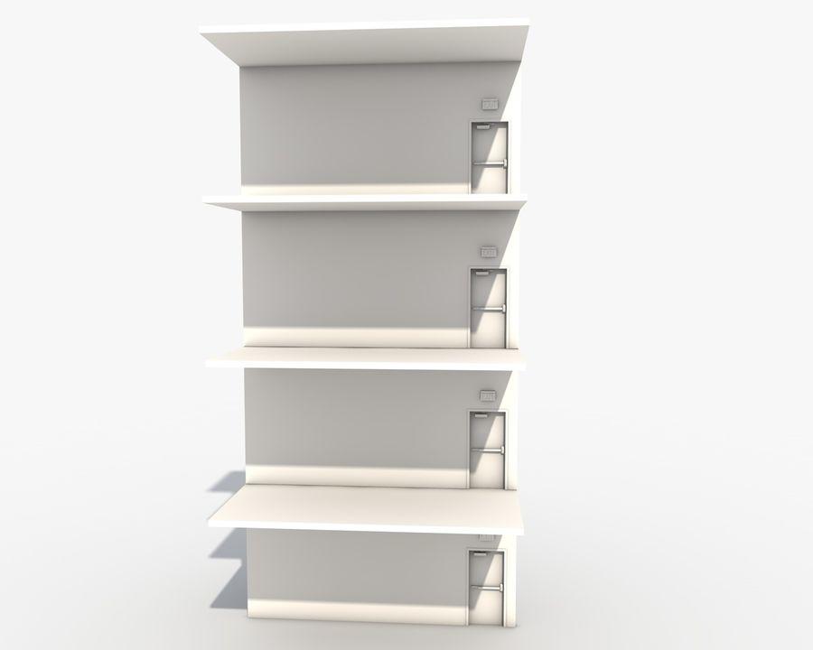 Acil durum merdivenleri royalty-free 3d model - Preview no. 6