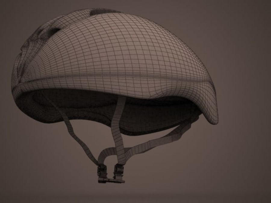 - Bike helmet - royalty-free 3d model - Preview no. 7