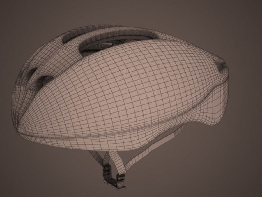 - Bike helmet - royalty-free 3d model - Preview no. 4