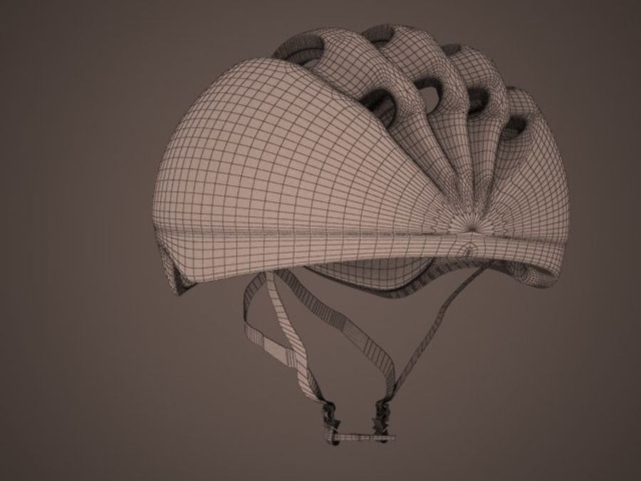 - Bike helmet - royalty-free 3d model - Preview no. 11